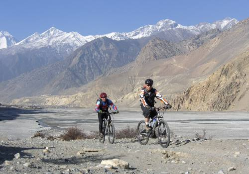 Muktinath to Pokhara Biking